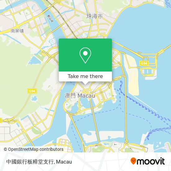 中國銀行板樟堂支行 map
