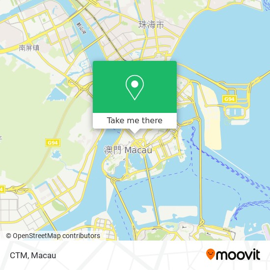 CTM map