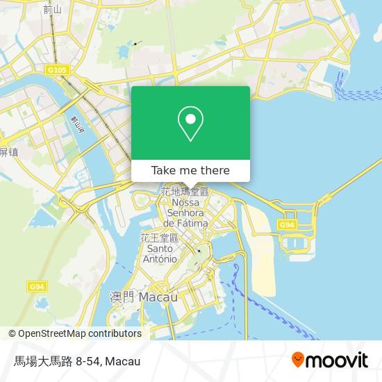 馬場大馬路 8-54 map