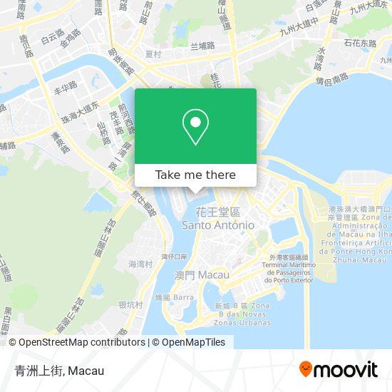 青洲上街 map