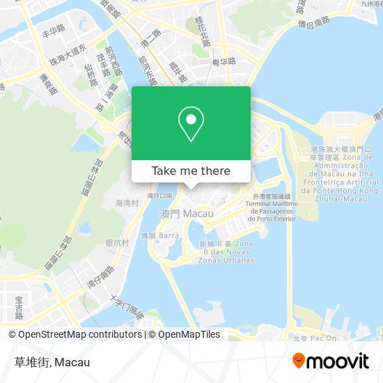 草堆街 map