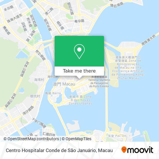 Centro Hospitalar Conde de São Januário map