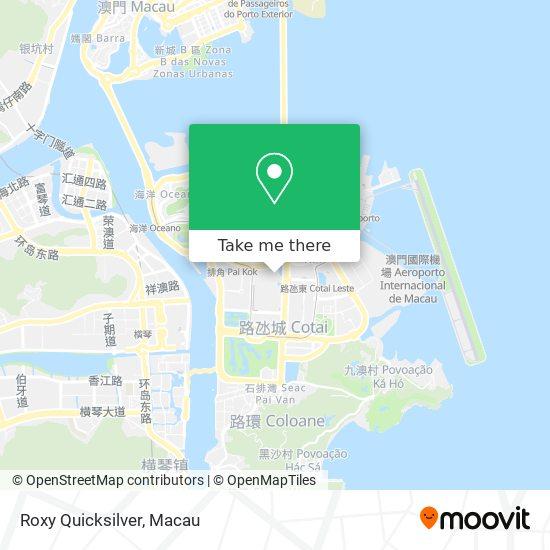 Roxy Quicksilver map