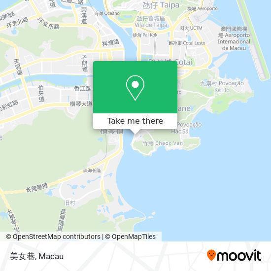 美女巷 map