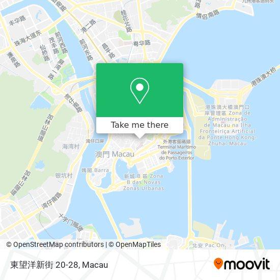 東望洋新街 20-28 map