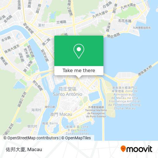 佑邦大廈 map