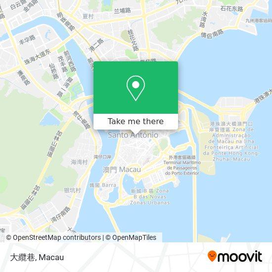 大纜巷 map