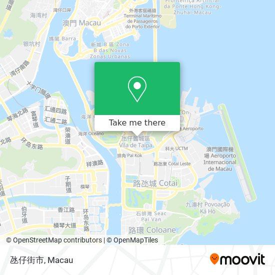 氹仔街市 map