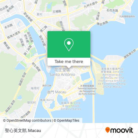 聖心英文部 map