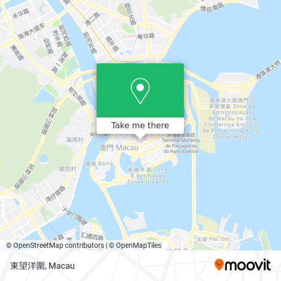 東望洋圍 map