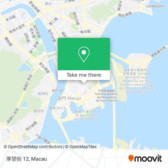 厚望街 12 map