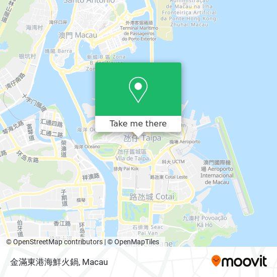 金滿東港海鮮火鍋 map
