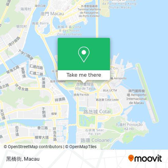 黑橋街 map