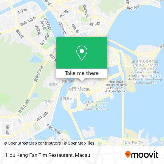 Hou Keng  Fan Tim Restaurant map