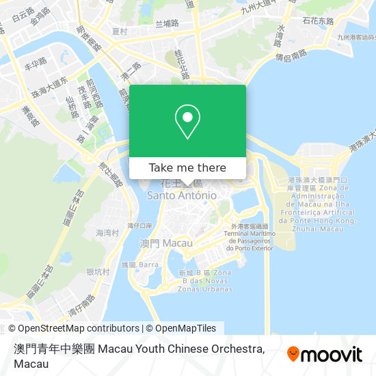 澳門青年中樂團 Macau Youth Chinese Orchestra map