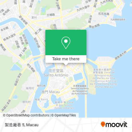 製造廠巷 5 map