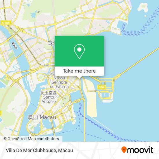 Villa De Mer Clubhouse map