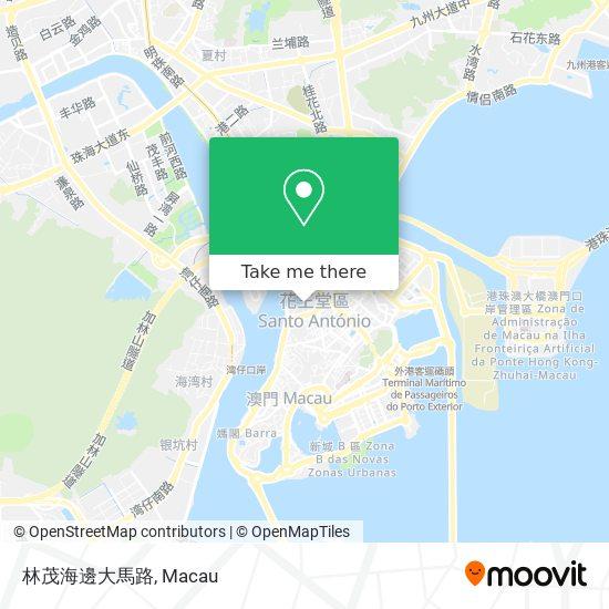 林茂海邊大馬路 map