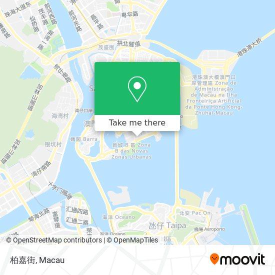 柏嘉街 map