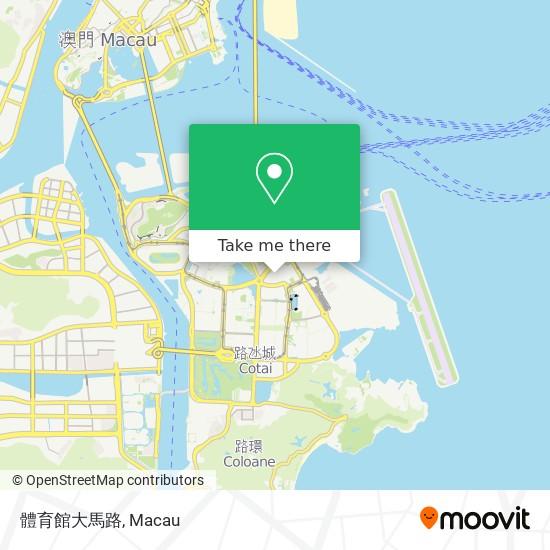 體育館大馬路 map
