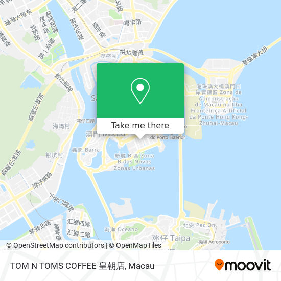 TOM N TOMS COFFEE 皇朝店 map