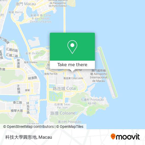 科技大學圓形地 map