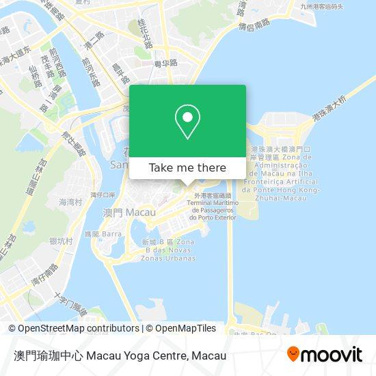 澳門瑜珈中心 Macau Yoga Centre map