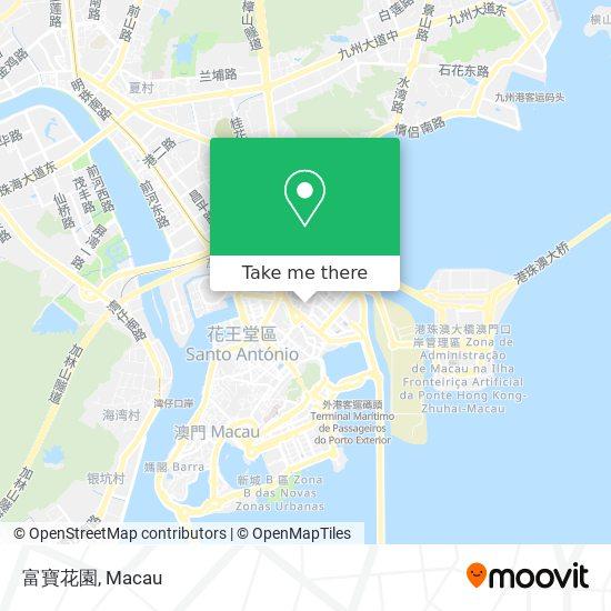 富寶花園 map