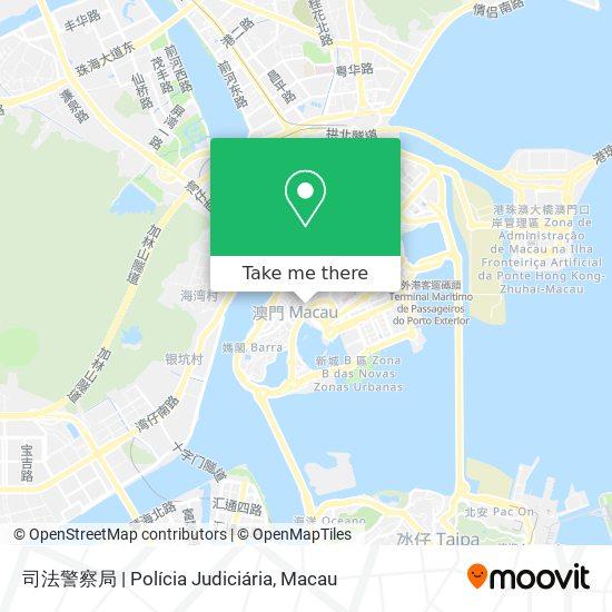司法警察局   Polícia Judiciária map