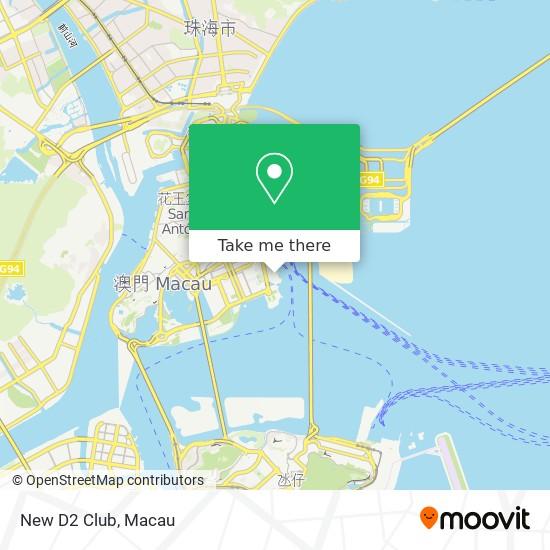 New D2 Club map