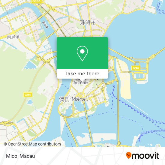 Mico map