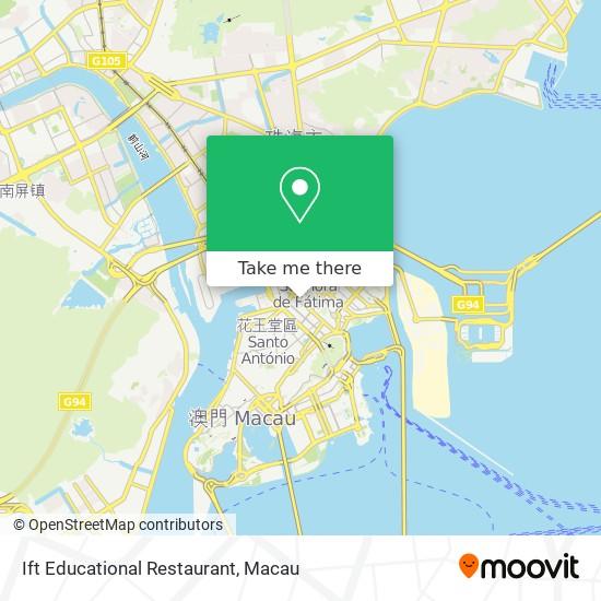 Ift Educational Restaurant map