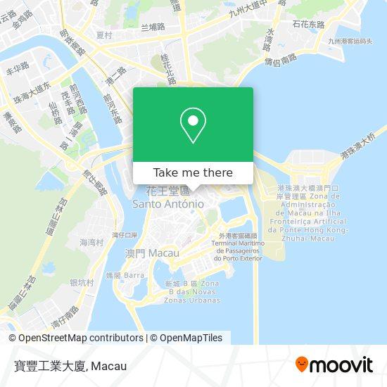 寶豐工業大廈 map