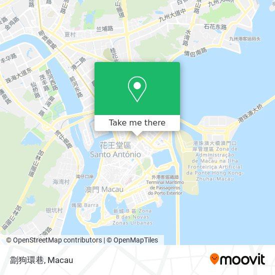 劏狗環巷 map