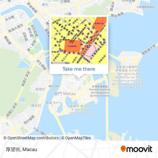 厚望街 map