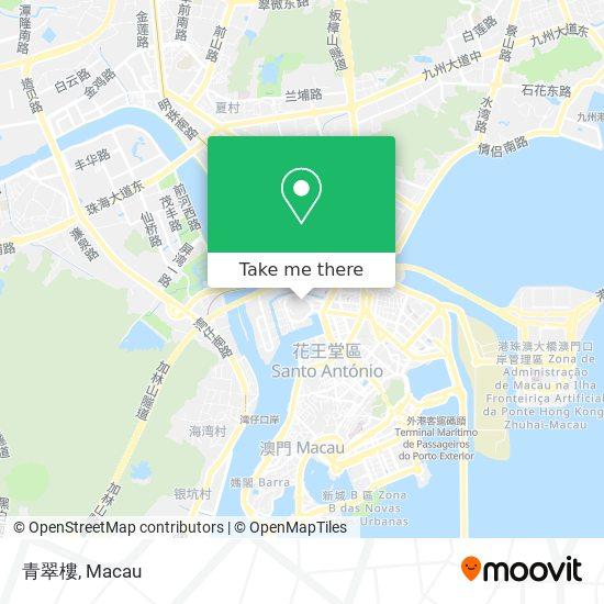 青翠樓 map