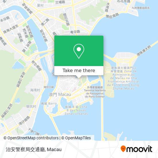治安警察局交通廳 map