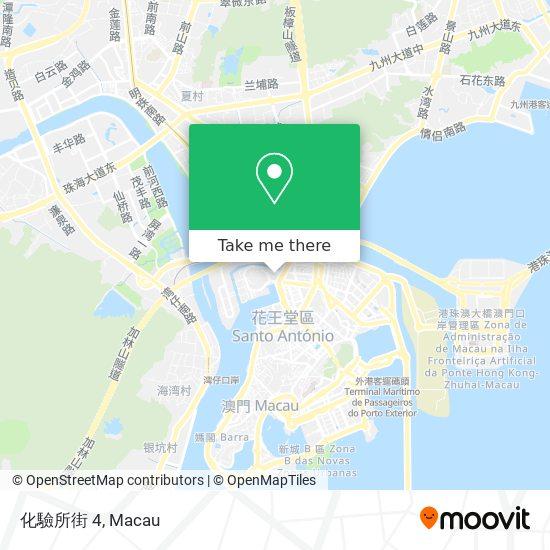 化驗所街 4 map