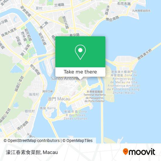 濠江春素食菜館 map