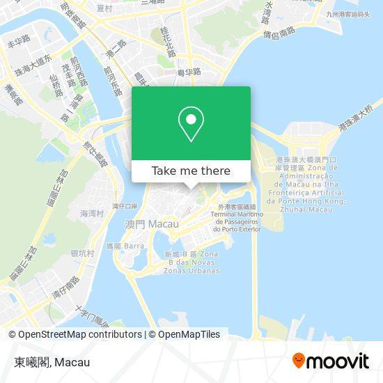 東曦閣 map