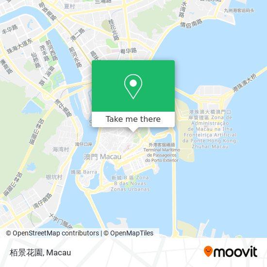 栢景花園 map