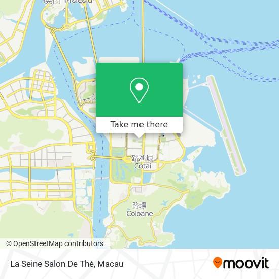 La Seine Salon De Thé map