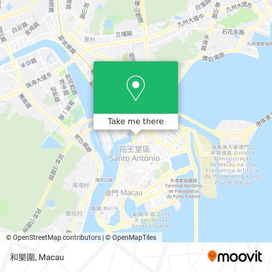 和樂圍 map