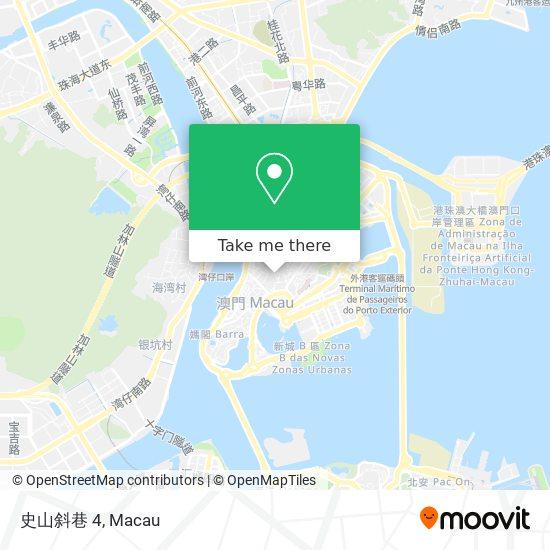 史山斜巷 4 map
