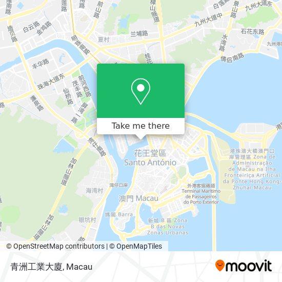 青洲工業大廈 map