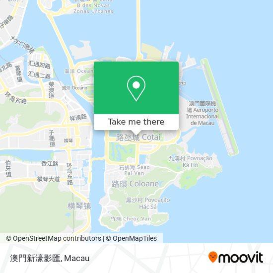 澳門新濠影匯 map