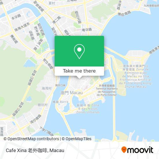 Cafe Xina 老外咖啡 map