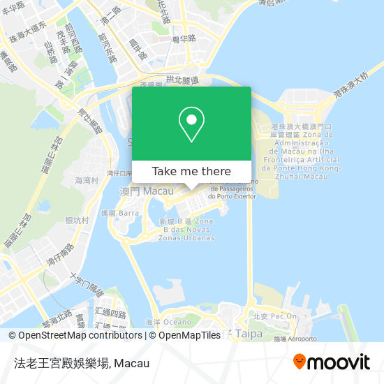 法老王宮殿娛樂場 map