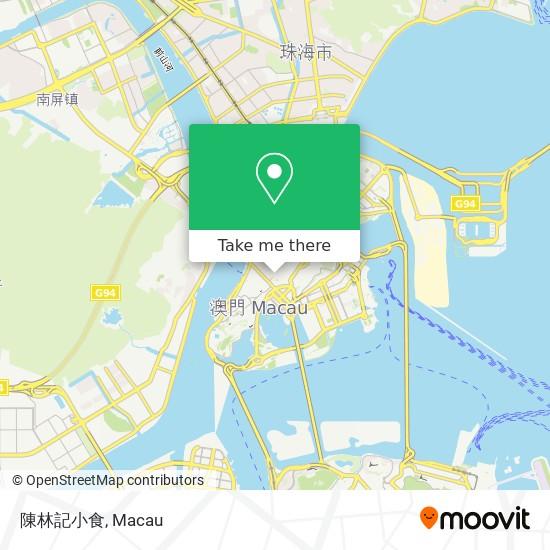 陳林記小食 map
