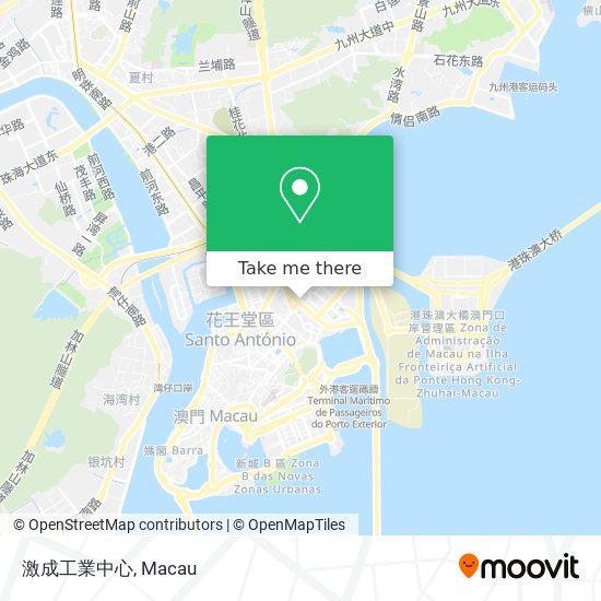 激成工業中心 map